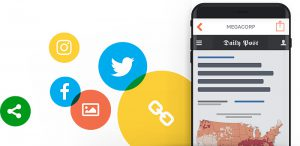 tchop app on smartphone