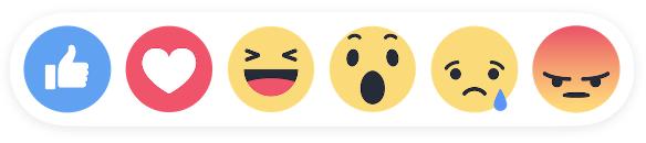 Facebool-Reaction Emojis